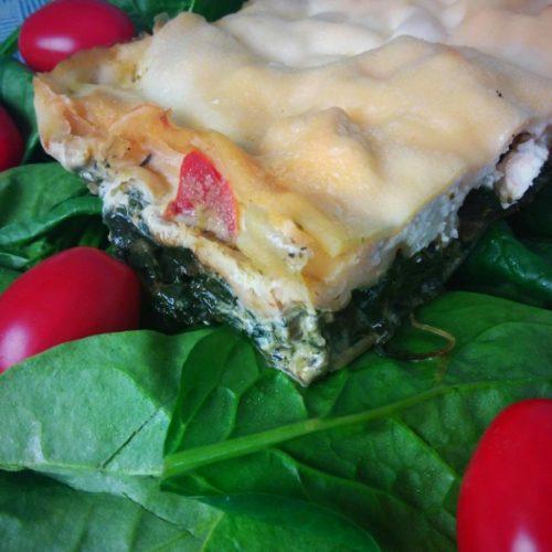 lasagna verde als avondeten